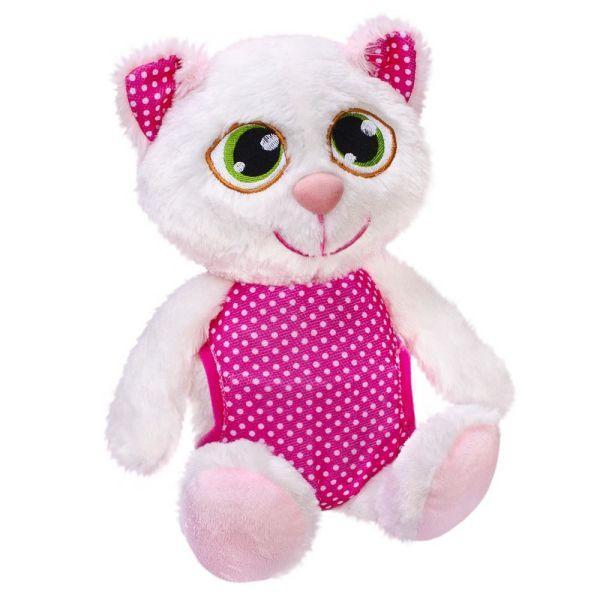 Мягкая набивная игрушка детская гипоаллергенная Сонный котик Fancy, 25 см