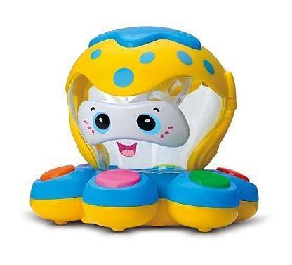 Детская игрушка музыкальный центр Mommy Love «Осьминог» с клавишами