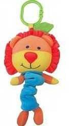 Детская плюшевая музыкальная игрушка Лев для коляски Alexis-Baby Mix YF 1006 L (3839)