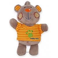 """Музыкальная детская игрушка на кроватку Baby Mix TE-9985-20B """"Медвежонок"""", коричневый"""