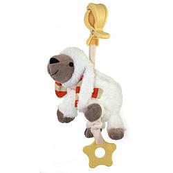 Музыкальная детская игрушка-подвеска на коляску Baby Mix STK-16394, Овечка (7317)