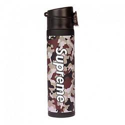 Термос bottle Supreme 400 мл., серый (124066)