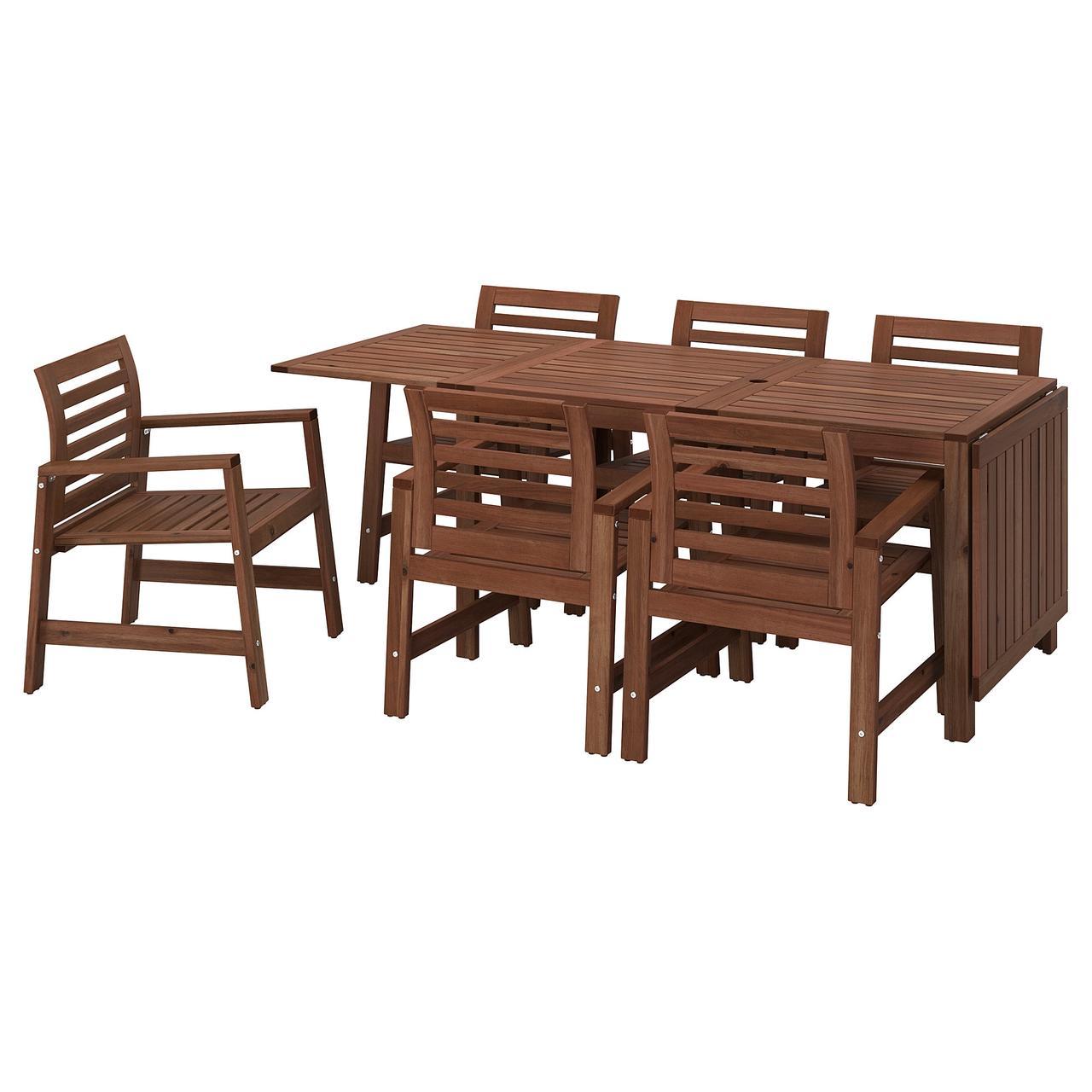 IKEA Комплект меблів садовий ÄPPLARÖ (398.984.74)