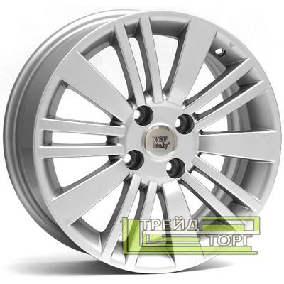 Литий Диск WSP Italy Fiat (W142) Ustica 6x15 4x100 ET38 DIA56.6 Silver (Срібло)