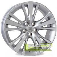 Литий Диск WSP Italy Lexus (W2654) Angel 7.5x19 5x114.3 ET35 DIA60.1 Hyper Silver (Супер срібло)