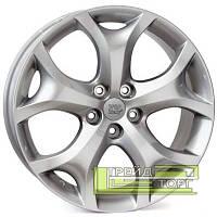 Литой Диск WSP Italy Mazda (W1905) Seine 7.5x18 5x114.3 ET50 DIA67.1 Hyper Silver (Cупер серебро)