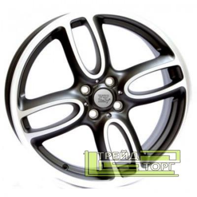 Литой Диск WSP Italy Mini (W1651) Limited Edition 7x18 4x100 ET52 DIA56.1 Black polished (Черный с полированной  частью)