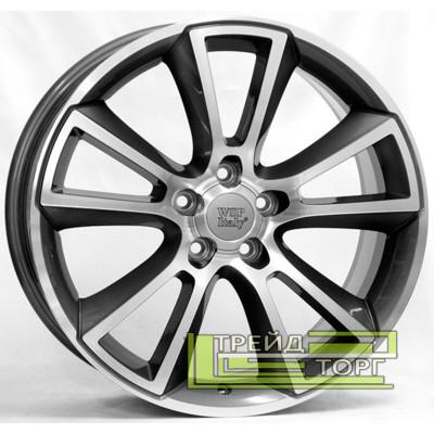 Литой Диск WSP Italy Opel (W2504) Moon 8x18 5x105 ET40 DIA56.6 Anthracide polish