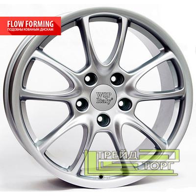 Литой Диск WSP Italy Porsche (W1052) Corsair 8.5x19 5x130 ET53 DIA71.6 Silver (Серебро)