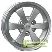 Литой Диск WSP Italy Smart (W1507) Etna 6x15 3x112 ET8 DIA57.1 Hyper Silver (Cупер серебро)