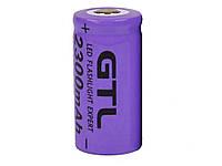 Літій іонна акумуляторна батарея GTL 16340 3,7 V 2300mAh