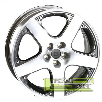 Литой Диск WSP Italy Volkswagen (W430) Sorrento 6.5x15 5x100 ET35 DIA57.1 Anthracide polish