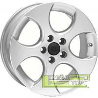 Литий Диск WSP Italy Volkswagen (W444) Ciprus 7.5x18 5x112 ET47 DIA57.1 Silver Polished (Сріблястий