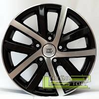 Литий Диск WSP Italy Volkswagen (W460) Rheia 6.5x16 5x112 ET50 DIA57.1 Black polished