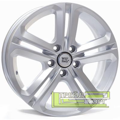 Литой Диск WSP Italy Volkswagen (W467) Xiamen 7x17 5x112 ET42 DIA57.1 Silver (Серебро)