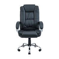 Кресло для руководителей Richman Калифорния Хром чёрное