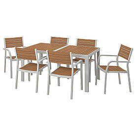 IKEA Комплект мебели садовый SJÄLLAND (192.651.99)