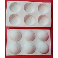Форма силиконовая для Евродесертов Parfum белая Empire 3156