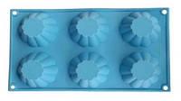 Форма силиконовая для выпечки кексов Vincent 28,5х17х3,5 см VC-1471