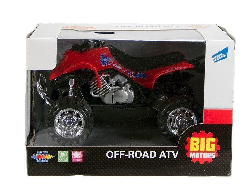 Квадроцикл инерционный BIG MOTORS, красный (6297-17-2)