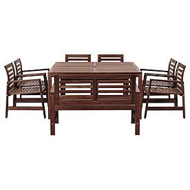 IKEA Комплект меблів садової ÄPPLARÖ ( 992.898.13)