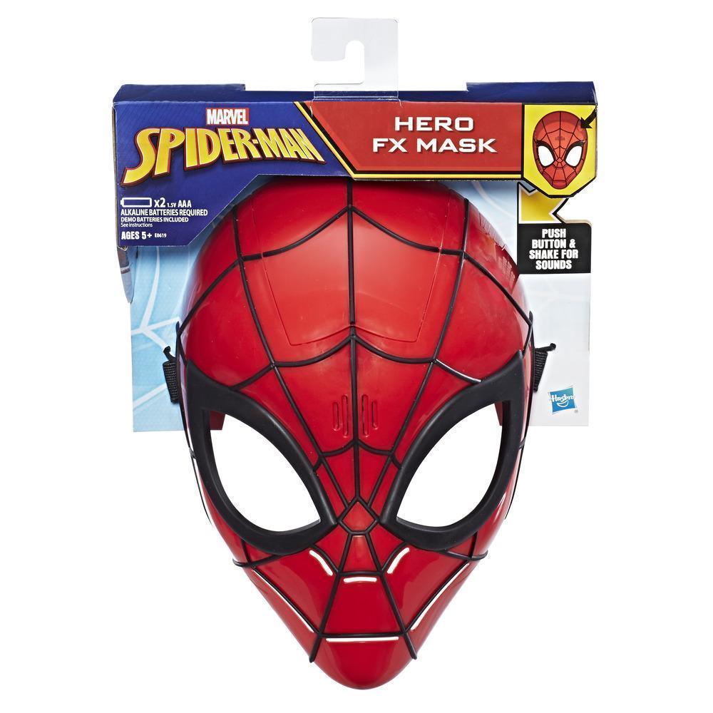 Маска Человек Паук c звуковыми эффектами Hasbro Marvel Spider-Man Mask (E0619)
