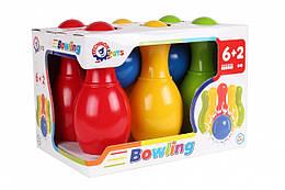 Детский набор для игры в боулинг ТехноК (4692)