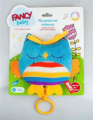 """Детская развивающая игрушка - подвеска для автокресла Fancy baby """"Совушка"""" для автокресла (SOV0\M)"""