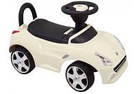 Детская машинка - каталка толокар Baby Mix UR-HZ603, белая (9557)