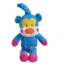Музыкальная детская игрушка для коляски Baby Mix TE-8067-30A Голубая пантера (3704)