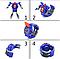 """Игрушка QUNXING """"Часы-трансформеры"""", синие (D622-H011-4), фото 3"""
