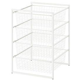 IKEA Рама с проволочными корзинами JONAXEL (092.971.34)