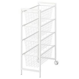 IKEA Рама с проволочными корзинами JONAXEL ( 592.974.38)
