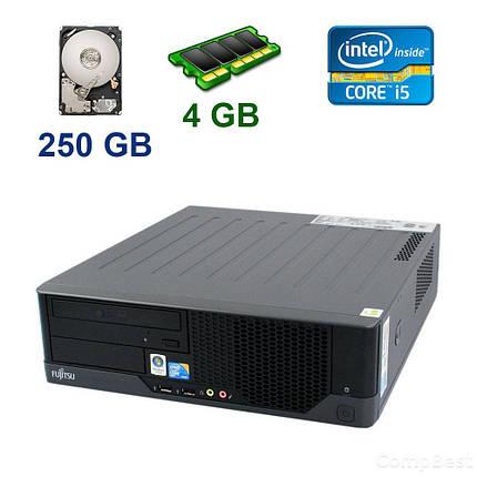 Fujitsu Esprimo E9900 Desktop / Intel Core i5-650 (2 (4) 3.2 - 3.46 GHz) / 4 GB DDR3 / 250 GB HDD, фото 2