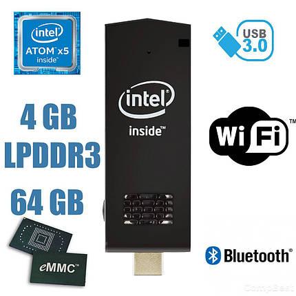 ПРЕДЗАКАЗ - Компьютер размером с телефон / Intel Atom x5-Z8350 (4 ядра по 1.44GHz) / 4GB LPDDR3 / 64GB EMMC / Windows 10 Home licence, фото 2