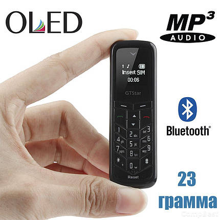 Ультракомпактный мобильный телефон-гарнитура весом 23 г., фото 2