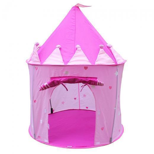 Детская игровая палатка Qunxing Toys Купол, розовая