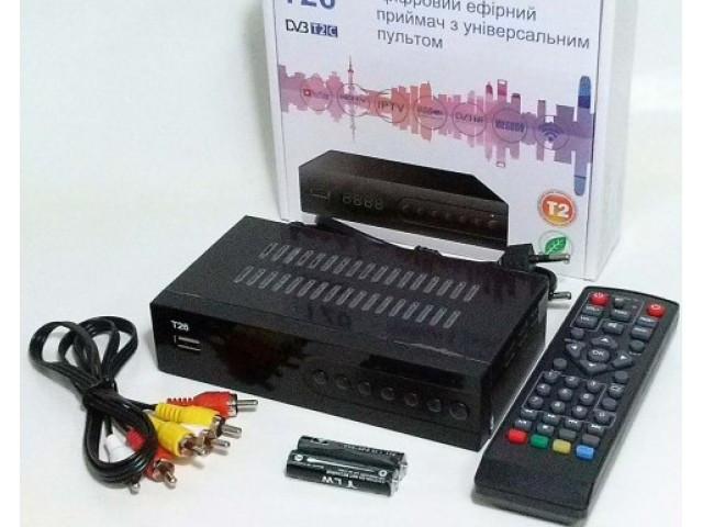 Цифровой эфирный ресивер GoldenStream T 26  u2c DVB T2 * 40056