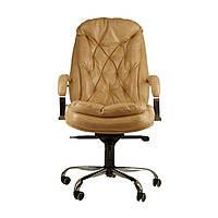 Кресло для руководителей Richman Венеция Хром М3 бежевое