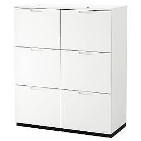 IKEA Комбинация шкафов GALANT ( 893.041.02)