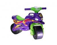 Детский пластиковый Байк-беговел 2-х колесный СПОРТ, фиолетовый (0138/60)