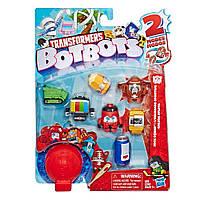 Детский набор из 8-ми трансформеров Ботботс: Банда спортсменов Hasbro Transformers
