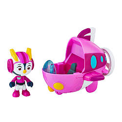 Игровой набор для ребенка HASBRO TOP WING Отважные Птенцы с машинкой: Пенни