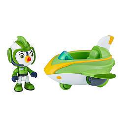"""Игровой набор """"Отважные Птенцы"""", Броуди и турбо-катер - Hasbro Top Wing Figure&Vehicle Ast"""