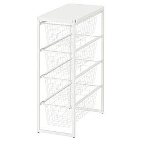 IKEA Рама с проволочными корзинами JONAXEL ( 093.050.87)
