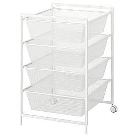 IKEA Рама с проволочными корзинами JONAXEL ( 492.974.91)