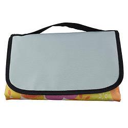 Раскладной коврик для пикника 145х80 см, желтый (55340002)