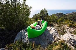 Надувной диван Air Sofa Ламзак, зеленый (48270002)