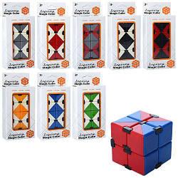 Игрушка антистресс для детей Магический куб, разные цвета