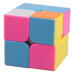 Кубик-рубик 2х2х2 без наклеек Smart Cube, разноцветный